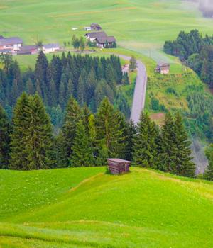 Natur genießen mit einer Pension in Kärnten