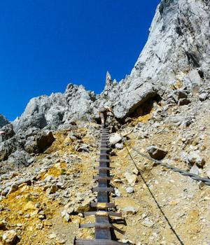Wanderurlaub in den Bergen in Ellmau