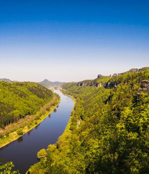 Wanderurlaub für die Gesundheit in Sachsen