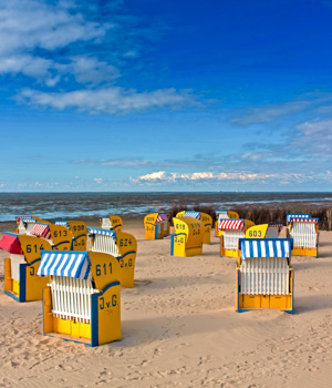Strandurlaub in Cuxhaven
