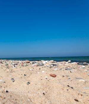 Urlaub am Strand auf Hiddensee