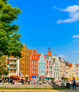 Schöne Momente in Rostock