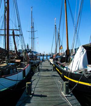 Freizeitaktivitäten im Urlaub in Bremerhaven