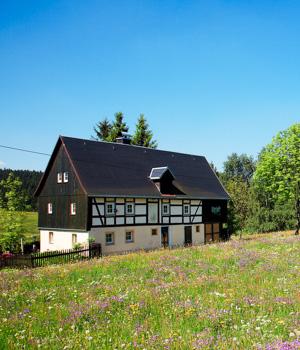 Pension im Erzgebirge