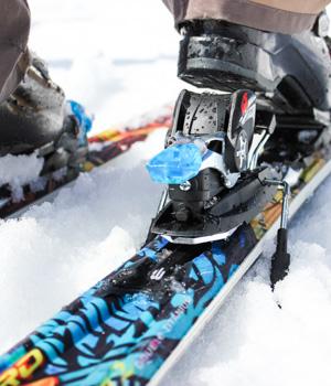 Wintersport im Stubaital
