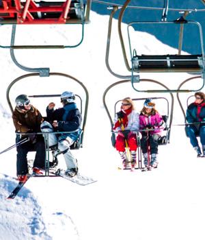 Skiparadies im Kleinwalsertal