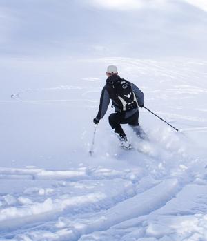 Wintersport in Lech