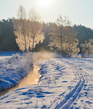 Natur genießen im Skiurlaub in Deutschland