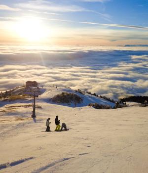 Natur genießen im Skiurlaub in der Steiermark