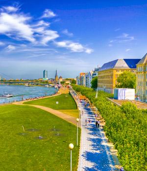 Stadt Düsseldorf erkunden
