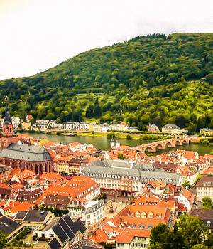 Stadt Heidelberg erkunden