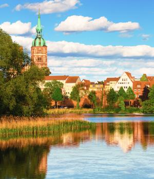 Altstadt in Stralsund kennenlernen