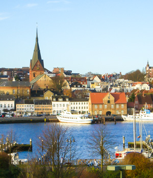 Altstadt in Flensburg erkunden