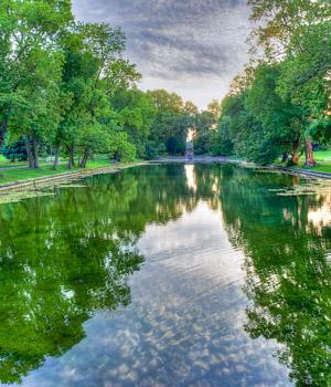 Natur genießen während der Städtereise in Weimar