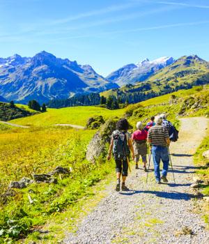 Wanderurlaub für die Gesundheit