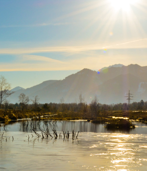 Natur genießen im Wanderurlaub im Chiemgau