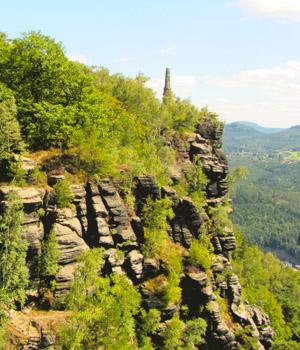 Wanderurlaub in den Bergen der Sächsischen Schweiz